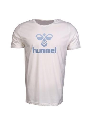Hummel Erkek Browst Tişört 911005-9003 Beyaz